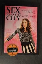 DVD Box Sex and the City seizoen 6