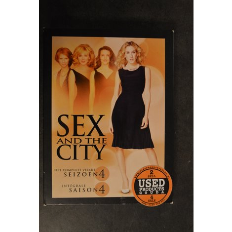 DVD Box Sex and the City seizoen 4