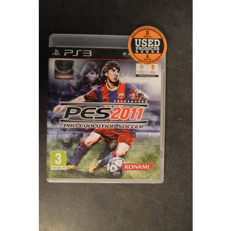 PS3 game Pes 2011
