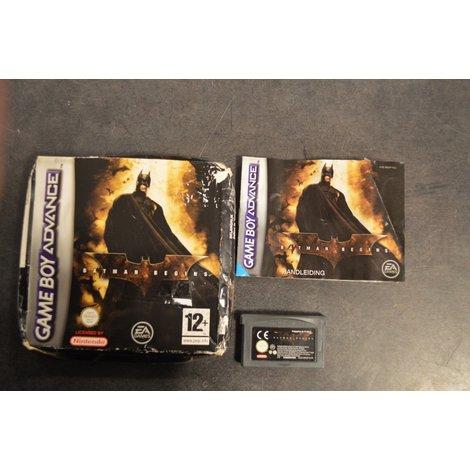 Nintendo GBA Batman Begins in doosje met boekje