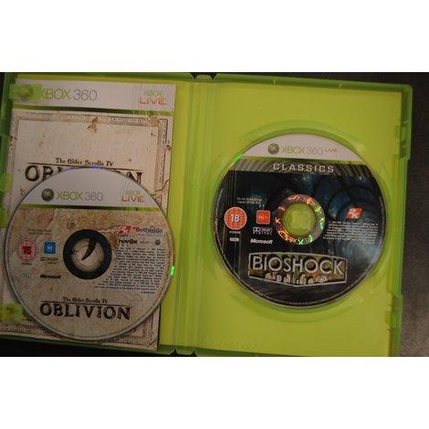 XBox 360 Game Bioshock & Oblivion