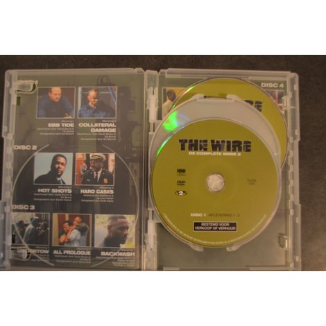 DVD Box The Wire de complete serie 2