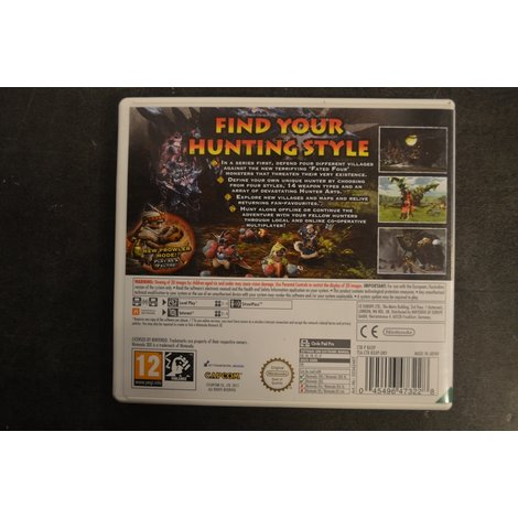 Nintendo 3DS game Monster Hunter Generations