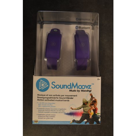 SoundMoovz Activated Music Band