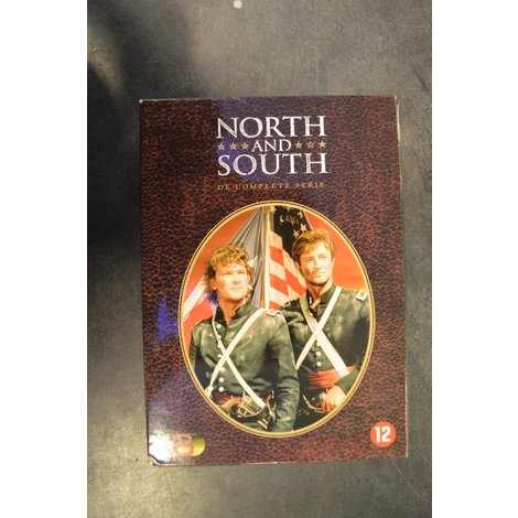 Dvd box North and south complete serie