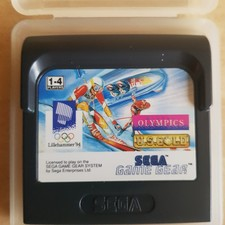 Sega Game Gear  Winter Olympics  U.S.Gold