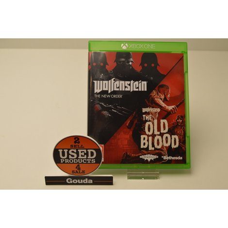 XBox One game Wolfenstein The New Order & The Old Blood