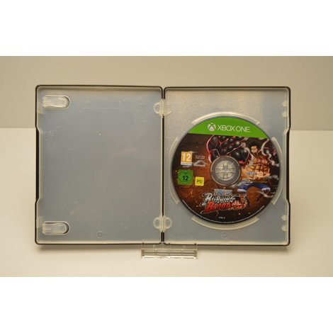 XBox One game Burning Blood in steel case
