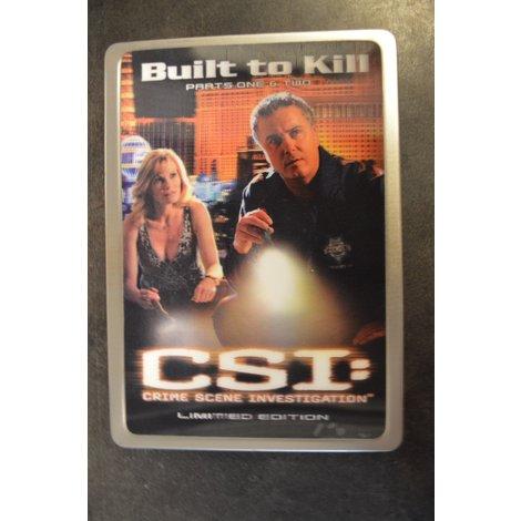 CSI Built to kill dvd