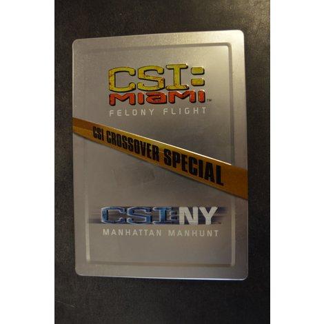 CSI Crossover special CSI Miami Felony Flight / CSI NY Manhattan Manhunt