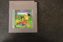 Game Boy game Bart Simpsons