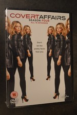 DVD Covert Affairs seizoen 4 NIEUW in seal