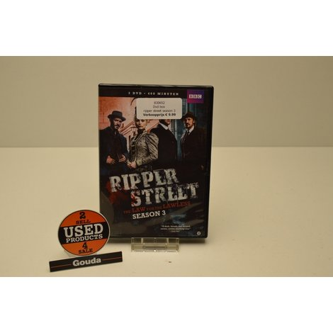 Dvd box ripper street season 3