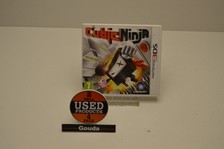 Nintendo 3DS game Cubic Ninja met boekje