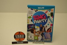 Wii U Game Sing Party