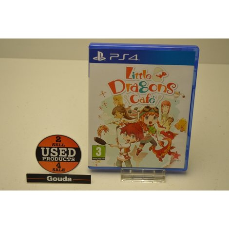 PS4 Game Little Dragons Cafe