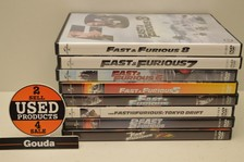DVD serie Fast and Furious 1 t/m 8