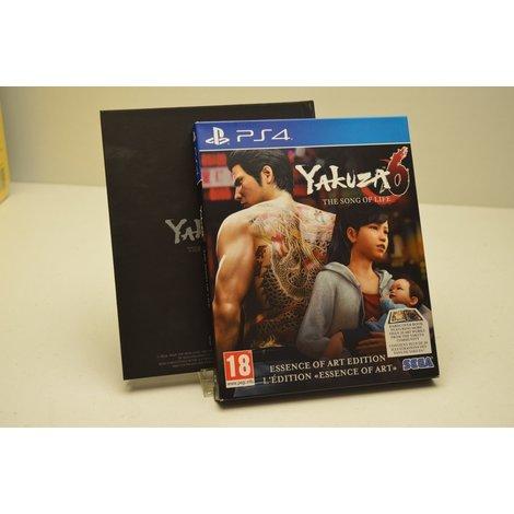 PS4 game Yakuza 6 met boekwerk