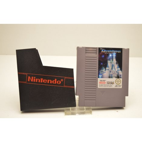 Nintendo Nes Game Adventures in The Magic Kingdom