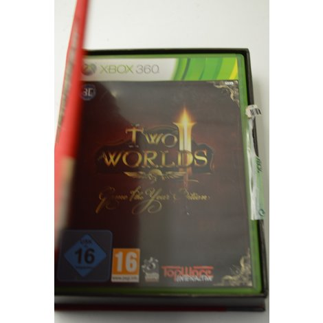 Xbox 360 game Two worlds GOTHY