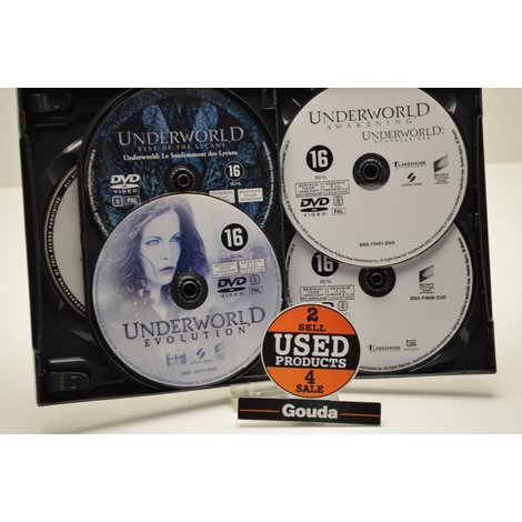 Dvd box underworld 5 disc
