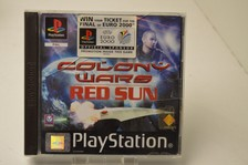 Playstation 1 game colony wars red sun