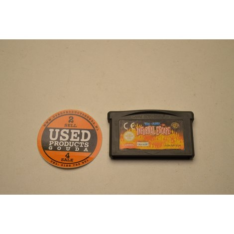 Nintendo GBA Tom & Jerry Infurnal Escape  losse cassette