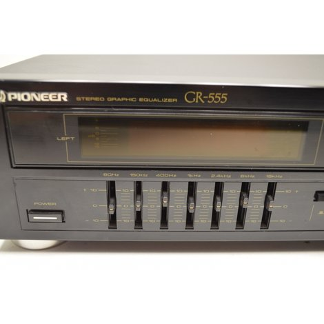Pioneer GR-555 Stereo Graphic Equaliser