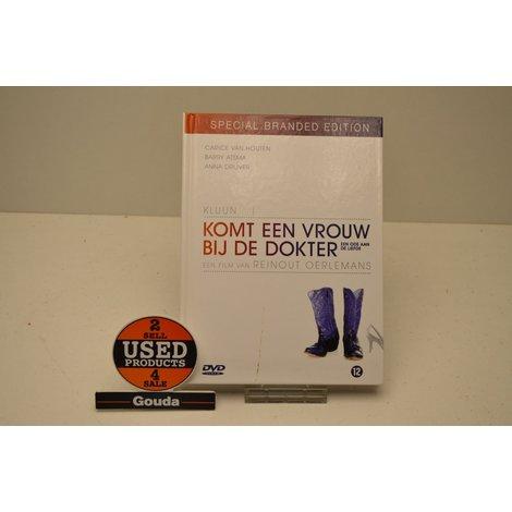 Dvd Komt een vrouw bij de Dokter Special Brand Edition  2 x Dvd met boekwerk