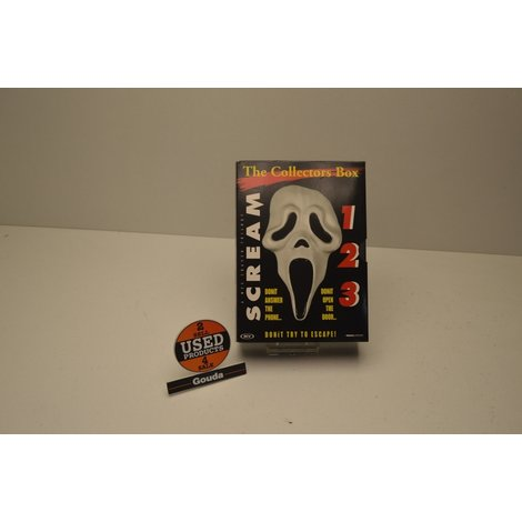 Dvd Box Scream 1, 2 en 3