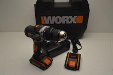 Worx accuschroefklopboormachine WX372 2x 20V accus met lader NIEUW in doos