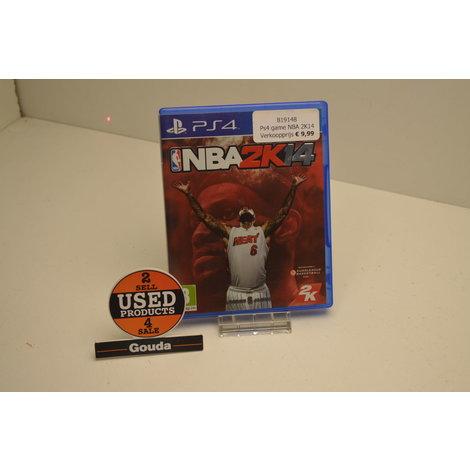 Ps4 game NBA 2K14