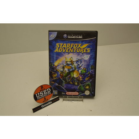 Gamecube game Starfox adventures
