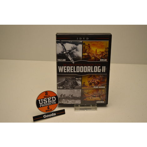 DVD Box De grootste slagen van wereldoorlog II