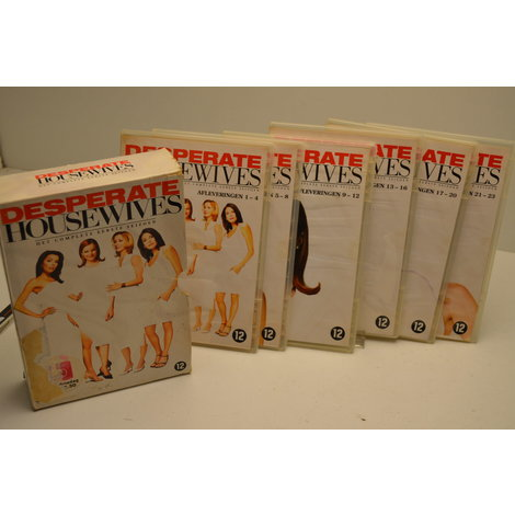 DVD Box Desperate housewives Serie 1