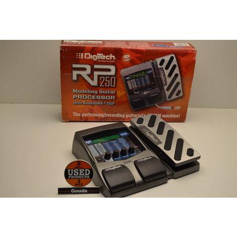 Digitech RP250 Modeling Guitar Processor compleet in doos