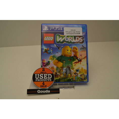 PS4 game Lego Worlds