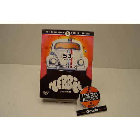 DVD box Herbie La Coccinelle 4 Dvd's