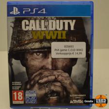 PS4 game C.o.D. WW II
