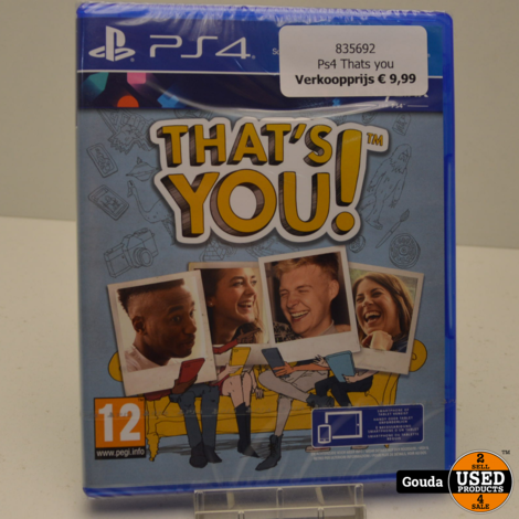Ps4 game Thats you nieuw in seal