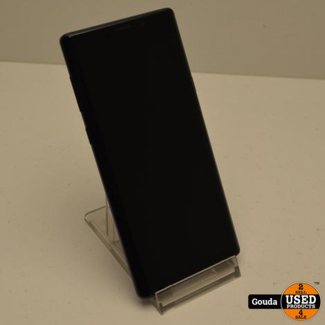 Samsung Galaxy Note 9 Blue  128 GB met USB kabel *