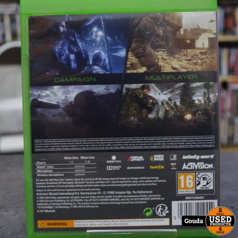 Xbox one Call of Duty Modern Warfare Remasterd