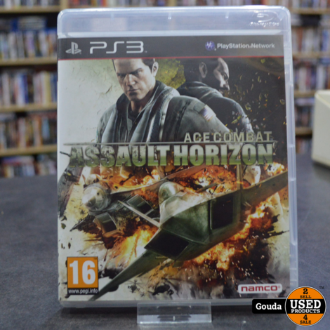 PS3 game Ace Combat Assault Horizon
