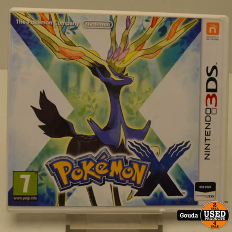 Nintendo 3DS game Pokemon X