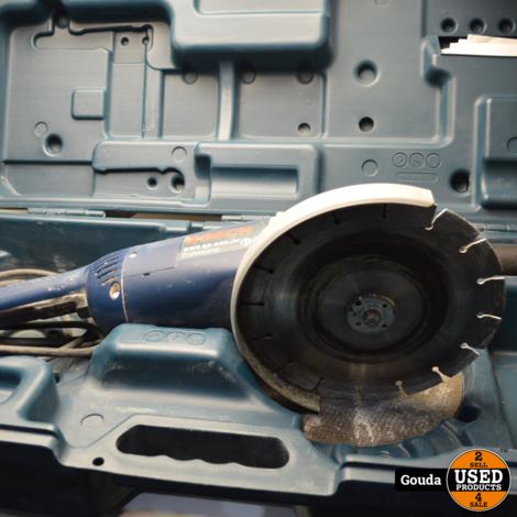 Bosch GWS Professional GWS 22-230 JH & GWS 7-125 Haakse Slijpers in koffer model 2018