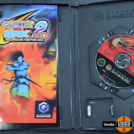 Gamecube game Capcom 2 SNK