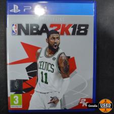 PS4 game NBA2K18