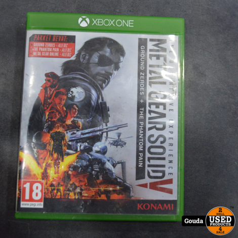 Xbox One game Metal Gear Solid V the Definitive Experience