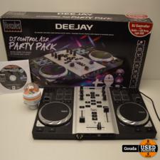 Hercules DJ Control Air Party Pack compleet in doos