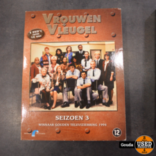 Dvd box Vrouwenvleugel seizoen 3